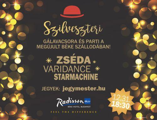 Radisson Blu Béke Hotel, Budapest – Szilveszter